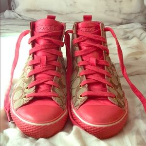Coach High Top sneakers!